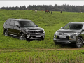 Kia Mohave и Mitsubishi Pajero Sport - 4:3 в пользу Кореи