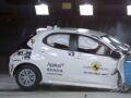 Toyota Yaris успешно проходит крэш-тесты EuroNCAP