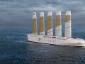 Oceanbird – проект 200-метрового парусного судна для перевозки автомобилей