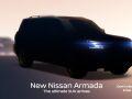 Nissan готовит показ обновленных Armada и Kicks