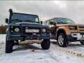 Land Rover Defender: тест с разницей в 40 лет